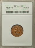 Indian Cents: , 1879 1C MS64 Red and Brown ANACS. NGC Census: (209/127). PCGS Population: (383/117). CDN: $275 Whsle. Bid for problem-free ...