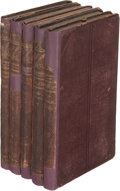Books:Literature Pre-1900, Victor Hugo. Les Misérables. New York: Carleton, Publisher, 1862. First U. S. edition, and first edition in English.... (Total: 5 Items)