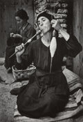 Photographs:Gelatin Silver, W. Eugene Smith (American, 1918-1978). The Spinner from Spanish Village, 1950. Gelatin silver, printed later. 9-3/4 x 6-...