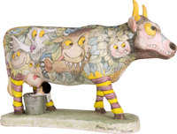 "Maurice Sendak. ""Moo-Reese"" Tabletop Cow. [New York?]: drawn and painted by the artist, with help from Lynn Ca..."