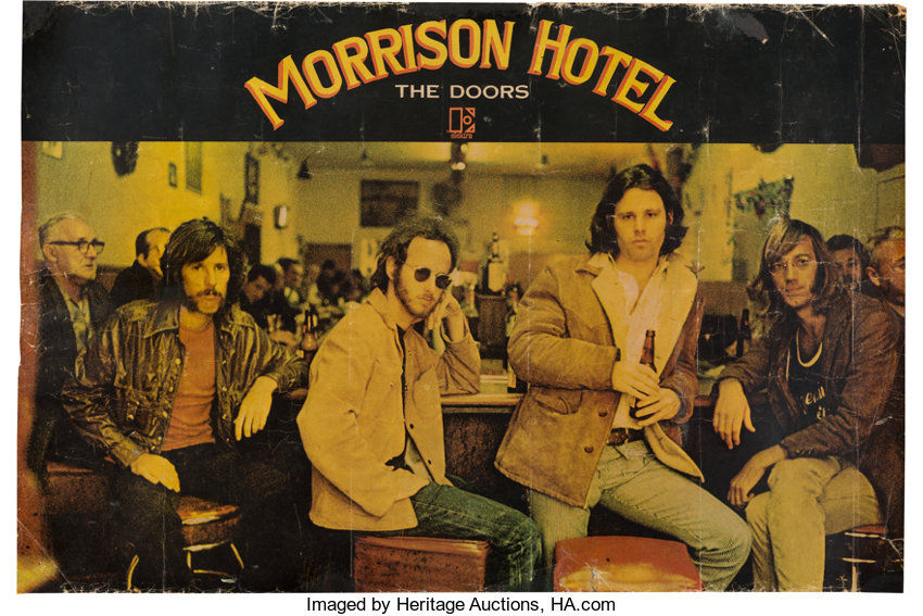 Doors US Promotional Poster For The Album Morrison Hotel