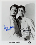 Movie/TV Memorabilia:Photos, Dean Martin and Jerry Lewis Signed Promotional Photograph FromScared Stiff And Jerry Lewis ...