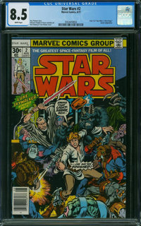 Star Wars #98 (Marvel, 1985) CGC VF+ 8.5 White pages