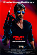 """Movie Posters:Action, Cobra (Warner Brothers, 1986) Rolled, Very Fine-. One Sheet (27"""" X 40.5"""") SS. John Alvin Artwork. Action. . ..."""