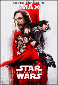 "Movie Posters:Science Fiction, Star Wars: The Last Jedi (Walt Disney Studios, 2017). Rolled, Near Mint/Mint. Mini IMAX Poster (13"" X 19""). Science Fiction...."