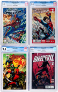 Modern Age (1980-Present):Miscellaneous, Marvel CGC-Graded Modern Age Comics Group of 6 (Marvel, 2014-16).... (Total: 6 Comic Books)