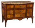 Furniture , A Paul Sormani Louis XVI-Style Gilt Bronze-Mounted Commode with Breche d' Alep Marble Top, Paris, circa 1870. Marks: PAUL ...
