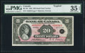 Canadian Currency, BC-9b $20 1935 PMG Choice Very Fine 35 EPQ.. ...