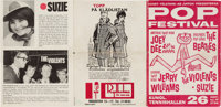 Beatles Two Concert Programs (Holland, 1963 and UK, 1964)