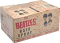 "Music Memorabilia:Memorabilia, Beatles Bronson Products Company ""The Beatles Hair Spray"" Shipping/Display Box (US, 1964)...."