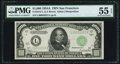 Small Size:Federal Reserve Notes, Fr. 2212-L $1,000 1934A Federal Reserve Note. PMG About Uncirculated 55 EPQ.. ...