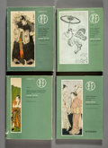 Collectible, Four Volumes on Japanese Art. 12 x 8-3/4 inches (30.5 x 22.2 cm) (each). ... (Total: 4 Items)