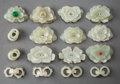 Carvings, A Group of Chinese Jade Carving, Qing Dynasty. 1-3/4 inches (4.6 cm) (largest). ... (Total: 10 Items)