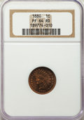 Proof Indian Cents: , 1880 1C PR64 Red NGC. NGC Census: (15/38). PCGS Population: (50/89). PR64. Mintage 3,955. ...