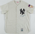 """Autographs:Jerseys, Mickey Mantle """"No. 7"""" Signed New York Yankees Jersey...."""