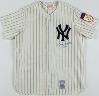 """Mickey Mantle """"No. 7"""" Signed New York Yankees Jersey"""