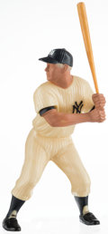 Baseball Collectibles:Hartland Statues, 1958-62 Hartland Mickey Mantle Statue. ...