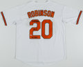 Autographs:Jerseys, Frank Robinson Signed Baltimore Orioles Jersey....
