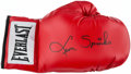 Boxing Collectibles:Autographs, Leon Spinks Signed Boxing Glove. ...