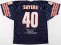 Autographs:Jerseys, Gale Sayers Signed Chicago Bears Jersey. ...