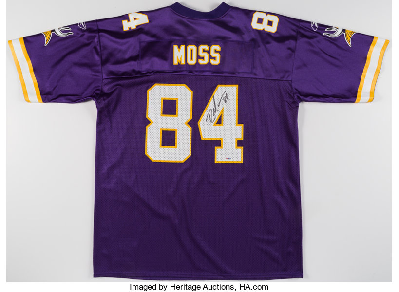 premium selection b43ea 7145b Randy Moss Signed Minnesota Vikings Jersey. ... Autographs ...