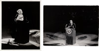 Yale Joel Iconic Marilyn Monroe and John F. Kennedy Photographs Taken at the Democratic Rally (1962)