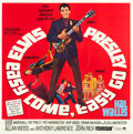 "Movie Posters:Elvis Presley, Easy Come, Easy Go (Paramount, 1967). Folded, Very Fine+. Six Sheet(79"" X 80"").. ..."