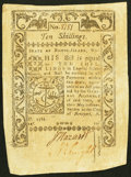 Colonial Notes:Rhode Island, Rhode Island May 1786 10s About New.. ...