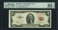 Small Size:Legal Tender Notes, Fr. 1510 $2 1953A Legal Tender Note. PMG Gem Uncirculated 65 EPQ.....