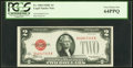 Small Size:Legal Tender Notes, Fr. 1504 $2 1928C Legal Tender Note. PCGS Very Choice New 64PPQ.....