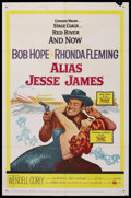 """Movie Posters:Comedy, Alias Jesse James (United Artists, 1959). One Sheet (27"""" X 41""""). Western Comedy. Starring Bob Hope, Rhonda Fleming, and Wend..."""