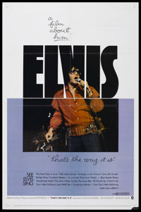 "That's the Way It Is (MGM, 1971). One Sheet (27"" X 41""). Musical Biography. Starring Elvis Presley. Directed b..."