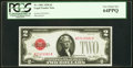 Small Size:Legal Tender Notes, Fr. 1501 $2 1928 Legal Tender Note. PCGS Very Choice New 64PPQ.....