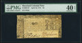 Colonial Notes:Maryland, Maryland April 10, 1774 $2 PMG Extremely Fine 40 EPQ.. ...