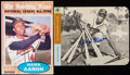 Autographs:Photos, Hank Aaron Signed Image Lot of 2....