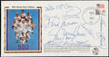 Autographs:Letters, 500 Home Run Club Multi-Signed First Day Cover (8 Signatures)....