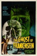 Movie Posters:Horror, The Ghost of Frankenstein (Realart, R-1948). Fine/Very Fin...