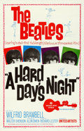 "Movie Posters:Rock and Roll, A Hard Day's Night (United Artists, 1964). Fine/Very Fine on Linen.One Sheet (27"" X 41"").. ..."