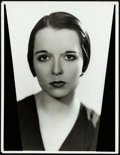 """Movie Posters:Miscellaneous, Louise Brooks in God's Gift to Women by Elmer Fryer (Warner Brothers, 1931) Very Fine-. Portrait Photo (11"""" X 14.25"""") & Auto..."""