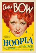 "Movie Posters:Drama, Hoopla (Fox, 1933). Very Fine- on Linen. One Sheet (28.5"" X 41"").. ..."