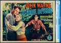 """Movie Posters:Western, The Trail Beyond (Monogram, 1934). Very Fine-. CGC Graded Title Lobby Card (11"""" X 14"""")...."""