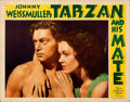 Movie Posters:Adventure, Tarzan and His Mate (MGM, 1934). Very Fine-. Lobby...