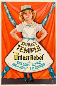 """The Littlest Rebel (20th Century Fox, 1935). Very Fine on Linen. One Sheet (27.5"""" X 41.25"""") Style A"""