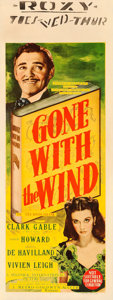 Movie Posters:Academy Award Winners, Gone with the Wind (MGM, 1939). Fine+ on Linen. Au...