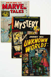 Golden Age Horror Group of 3 (Various Publishers, 1953-69) Condition: Average VG/FN.... (Total: 3 )