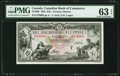 Canadian Currency, Toronto, ON- Canadian Bank of Commerce $10 2.1.1935 Ch.# 75-18-06 PMG Choice Uncirculated 63 EPQ.. ...
