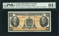 Canadian Currency, Montreal, PQ- Royal Bank of Canada $10 2.1.1935 Ch.# 630-18-04a PMG Choice Uncirculated 64 EPQ.. ...