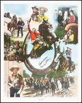 """Movie Posters:Western, Gene Autry Limited Edition Print (Nostalgia Merchant, 1982).Rolled, Very Fine/Near Mint. Autographed Poster (24"""" X 30""""). We..."""