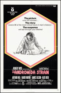 """Movie Posters:Science Fiction, The Andromeda Strain (Universal, 1971). Folded, Very Fine-. OneSheet (27"""" X 41""""). Science Fiction.. ..."""