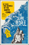 """Movie Posters:Science Fiction, The Slime People & Other Lot (Hansen Enterprise, 1963) Folded,Very Fine-. One Sheets (2) (27"""" X 41""""). Science Fiction.. ...(Total: 2 Items)"""